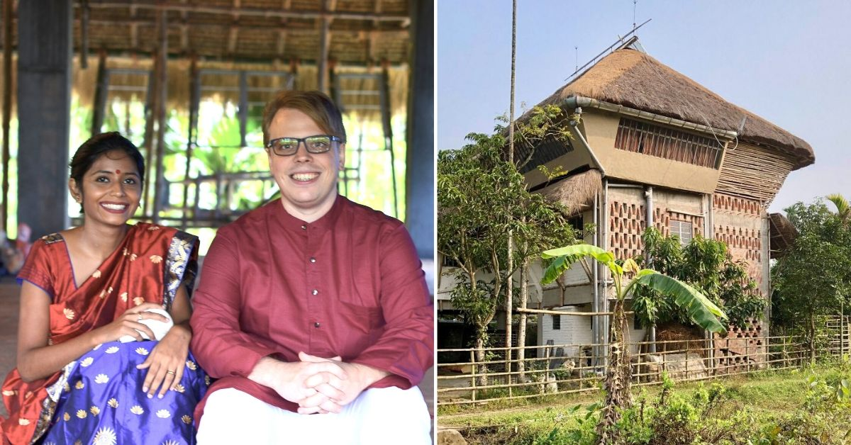 Couple's Solar House Survived a Cyclone. And it's Made of Mud, Bamboo & Straw!
