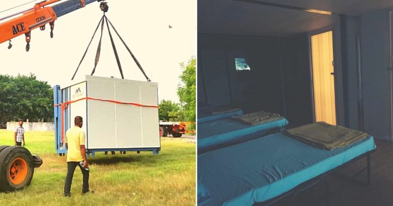 IIT-M Alumni's Foldable COVID-19 Hospitals Can Be Installed in Just 2 Hours