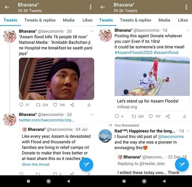 Os fãs do BTS que levantaram Rs 5,9 Lakh em um dia para alívio de enchentes em Assam 4