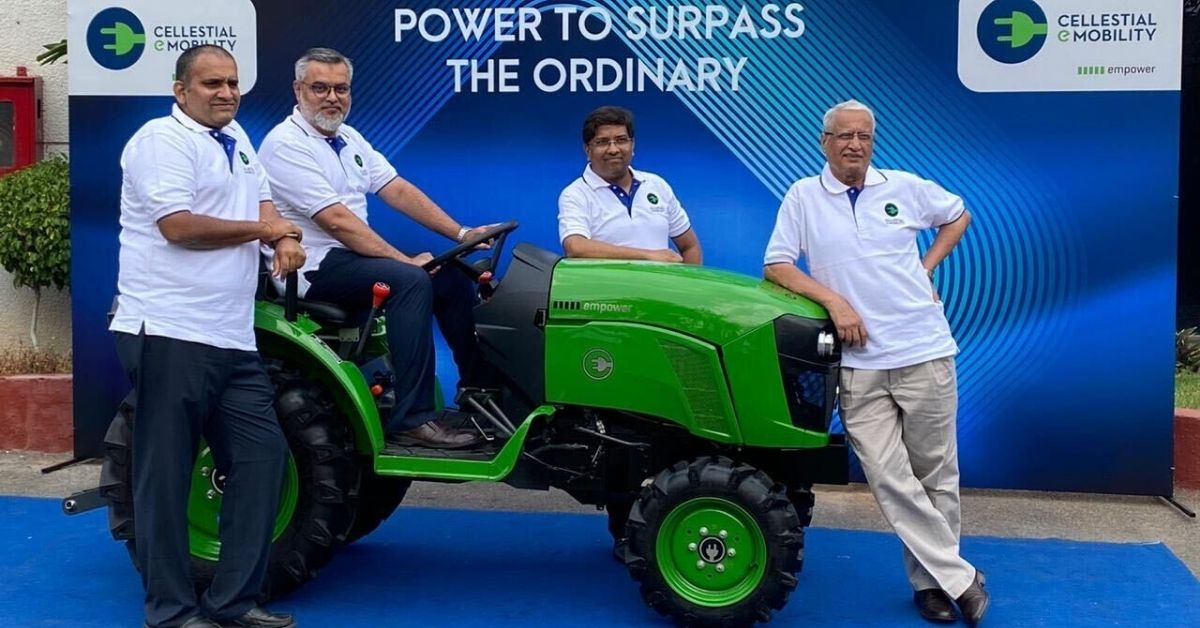 New Electric Tractor Cheaper Than Diesel Versions By a Lakh, goes 75 Km/Per Charge