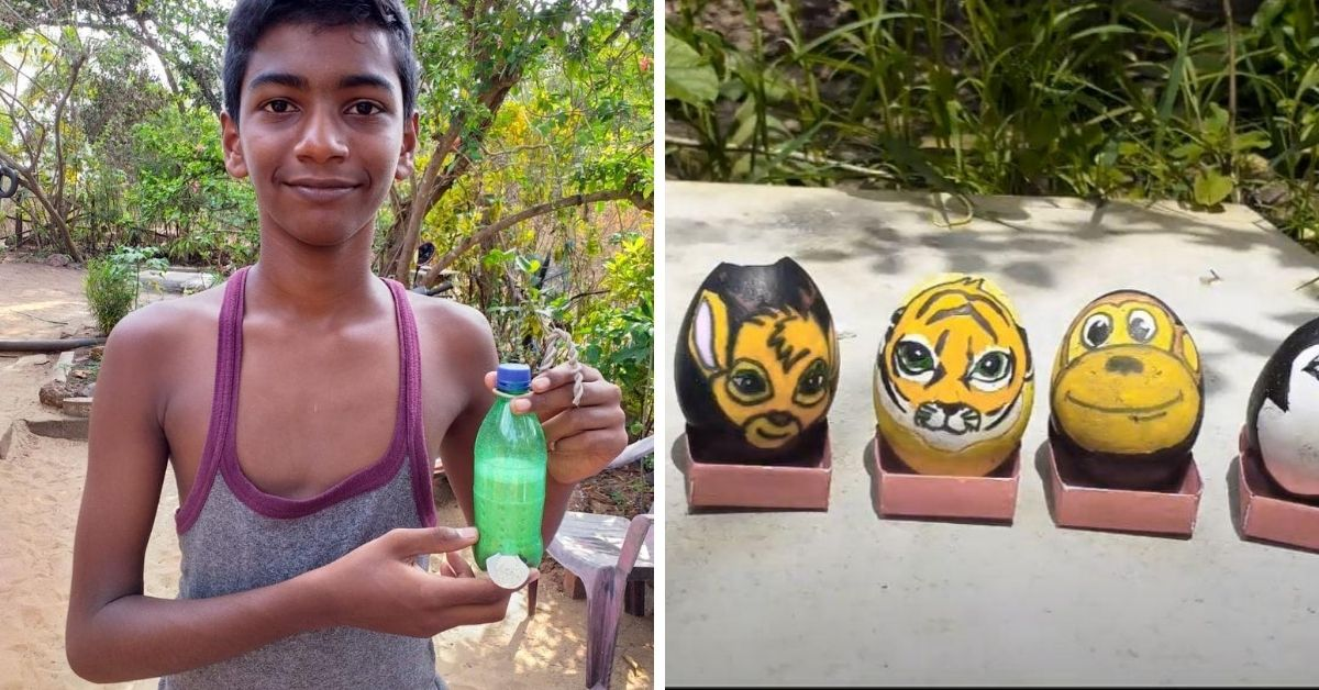 With Eggshells & Activism, 15-YO Varad Shows Us All How to Be an Environmentalist