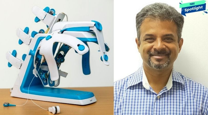 Immobilised at 34, NRI Man Recovers & Builds Mobility Device For Stroke Survivors