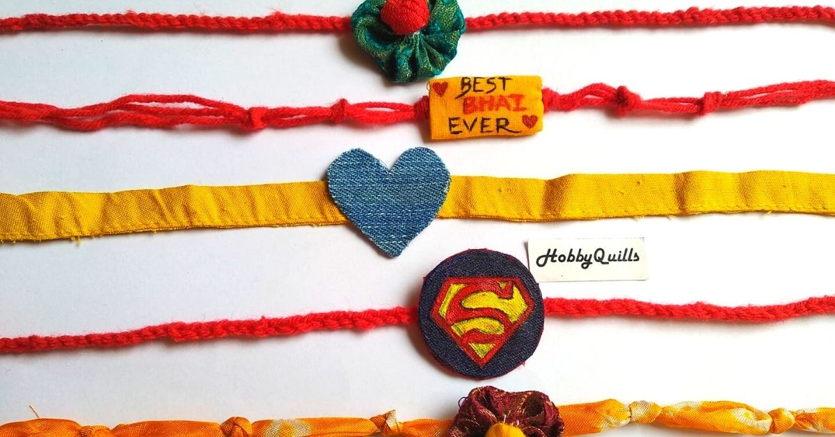 How to Make an Eco-friendly Rakhi With Items Already In Your Home