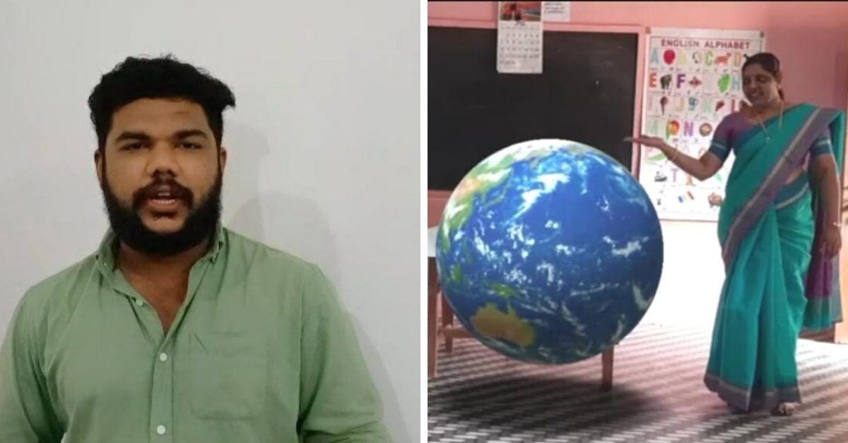How a Kerala Teacher Brought Elephants & Astronauts to his Online Classes