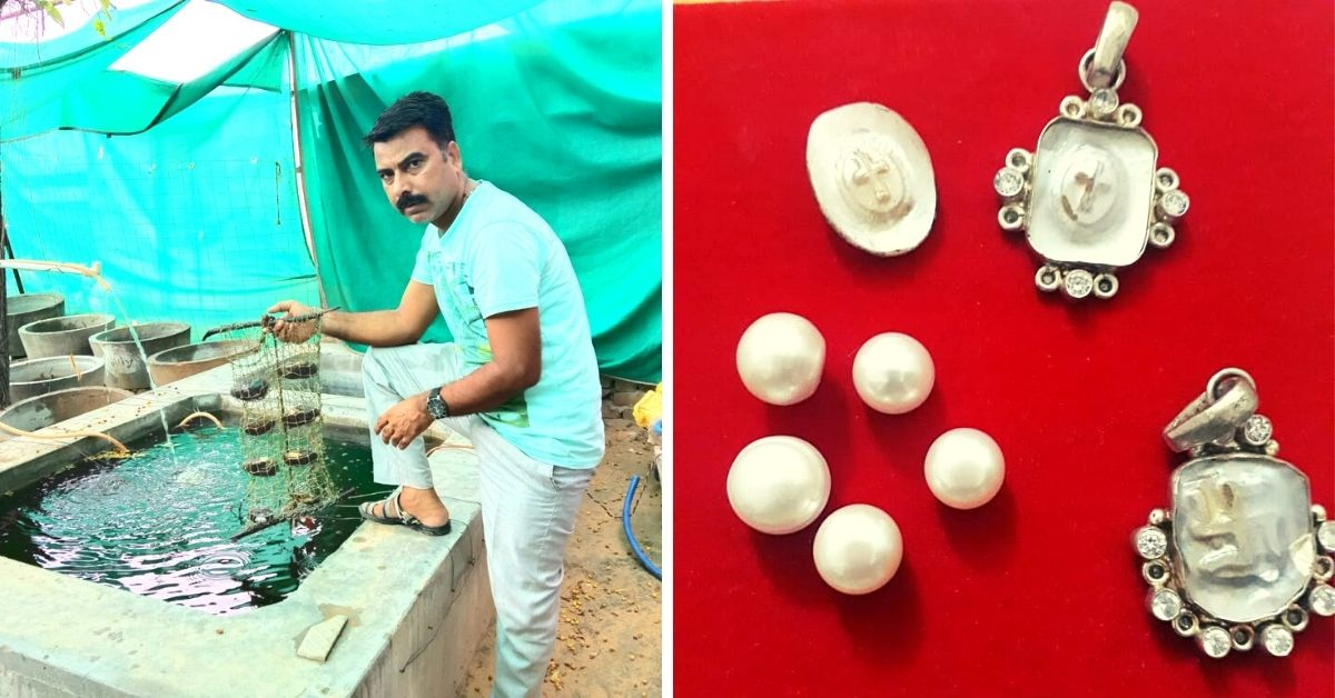 Rajasthan Book Seller Earns Rs 4 Lakh/Year By Part-Time Pearl Farming At Home