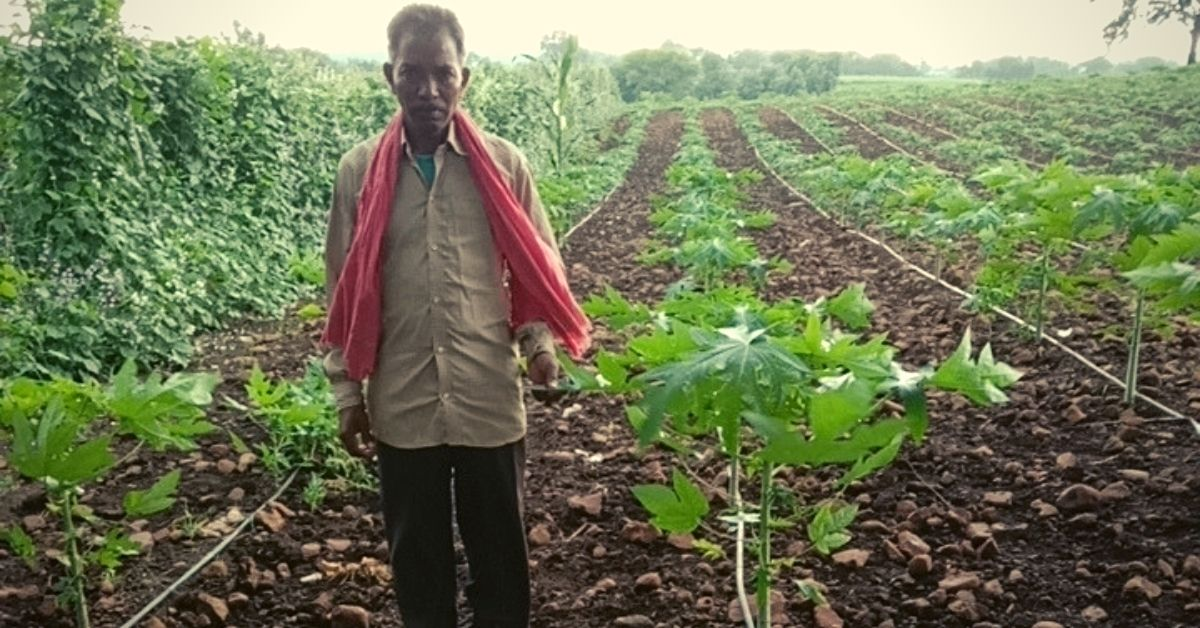 MP Farmer Builds Irrigation System Using Waste Glucose Bottles; Now Earns in Lakhs