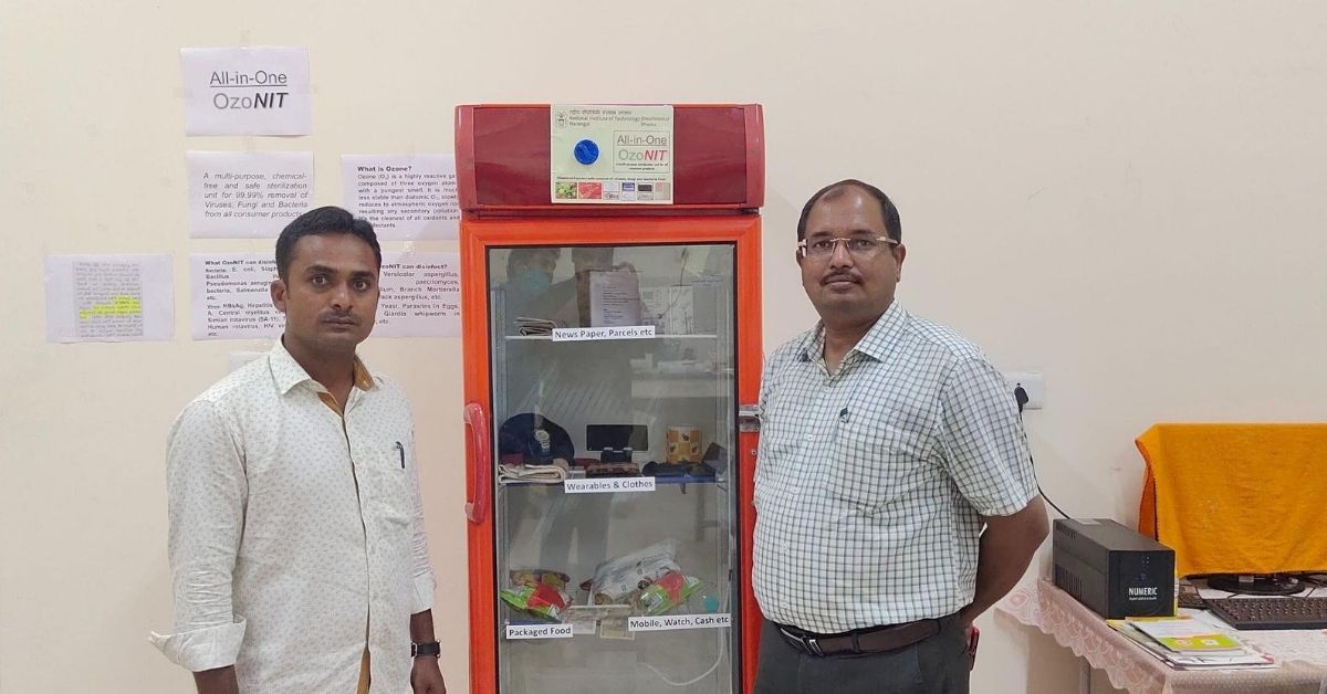 NIT Warangal's Innovation Could Help Sanitise Household Items Without Chemicals