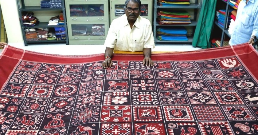 This 'Oily' Handloom From Coastal Andhra Once Impressed The World