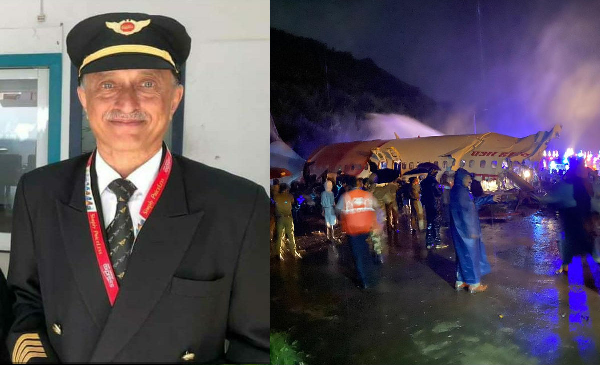Kerala Plane Crash: Pilot Deepak Sathe Was a Decorated Officer From The Air Force
