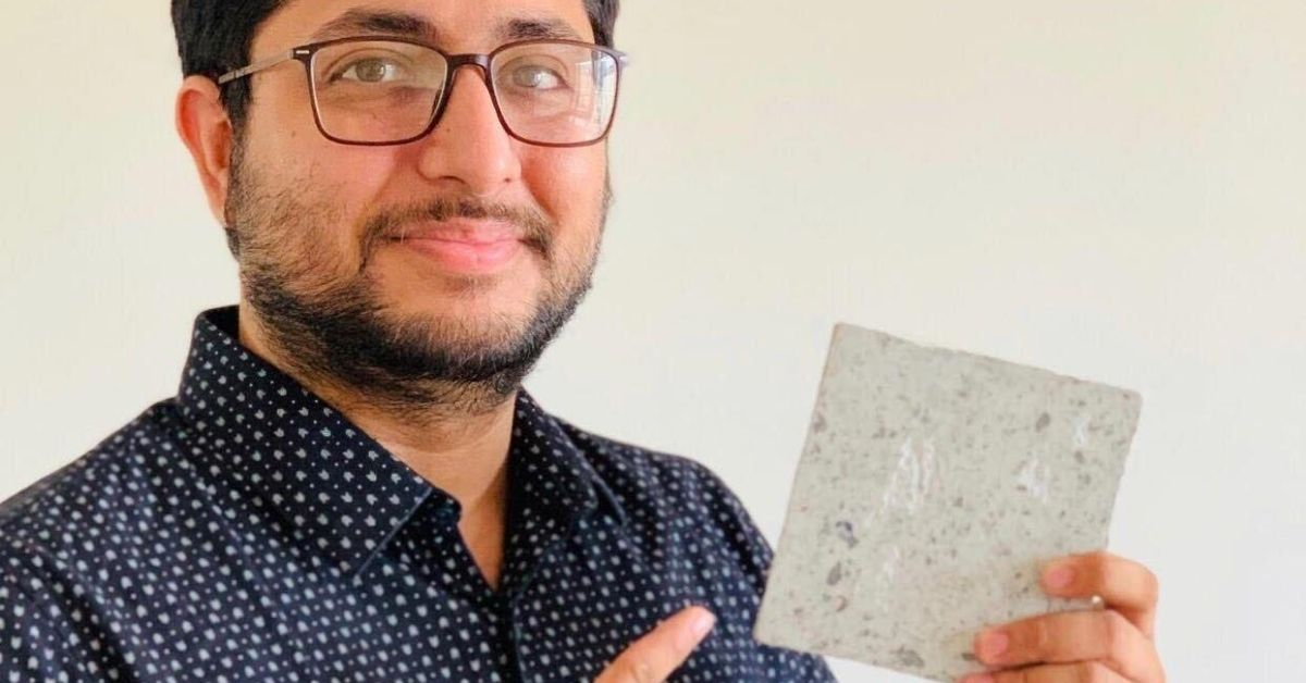 India's 'Recycle Man' Can Convert Used PPE Kits & Face Masks Into Bricks