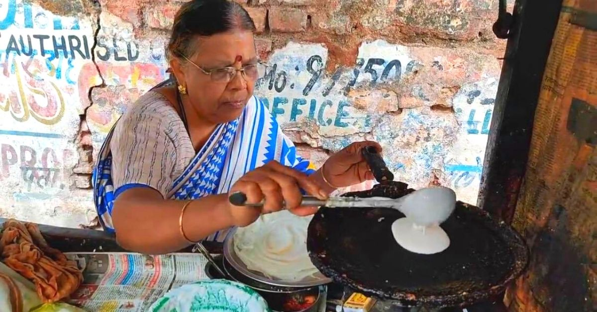 'I Know What Starvation Does': 62-YO Nagpur 'Ajji' Sells Dosas For Just Rs 10