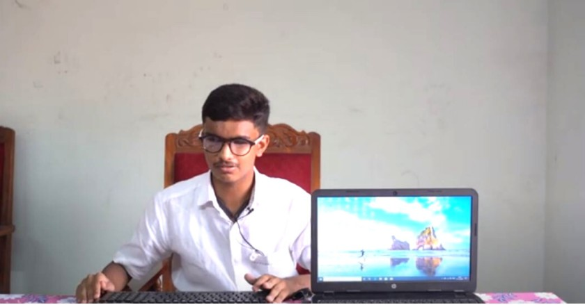 Visually Impaired 15-YO Learns Coding to Write Class 10 Exams, Scores Straight A's