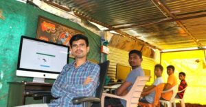 Dadasaheb Bhagat from Beed worked as an office boy in Pune and developed skills in software and animation
