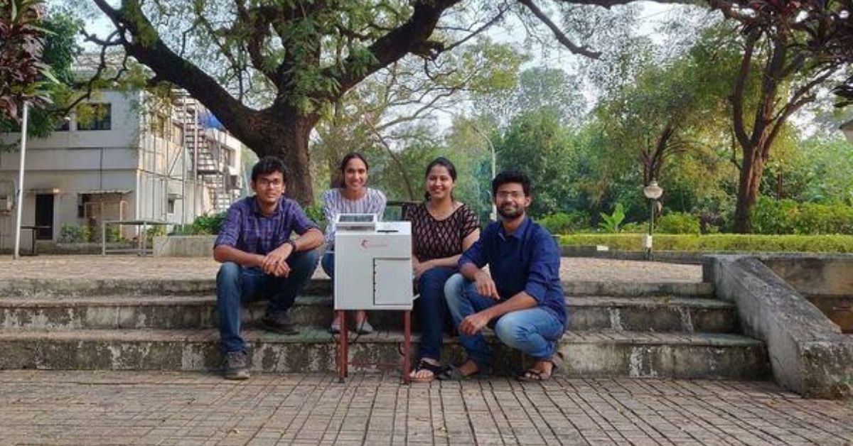 Pune Startup's Innovation Breaks Down Used Sanitary Pads Without Burning Them