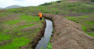 """I also shared how trenches could get dug to allow rain water to get stored in the belly of the ground,"""