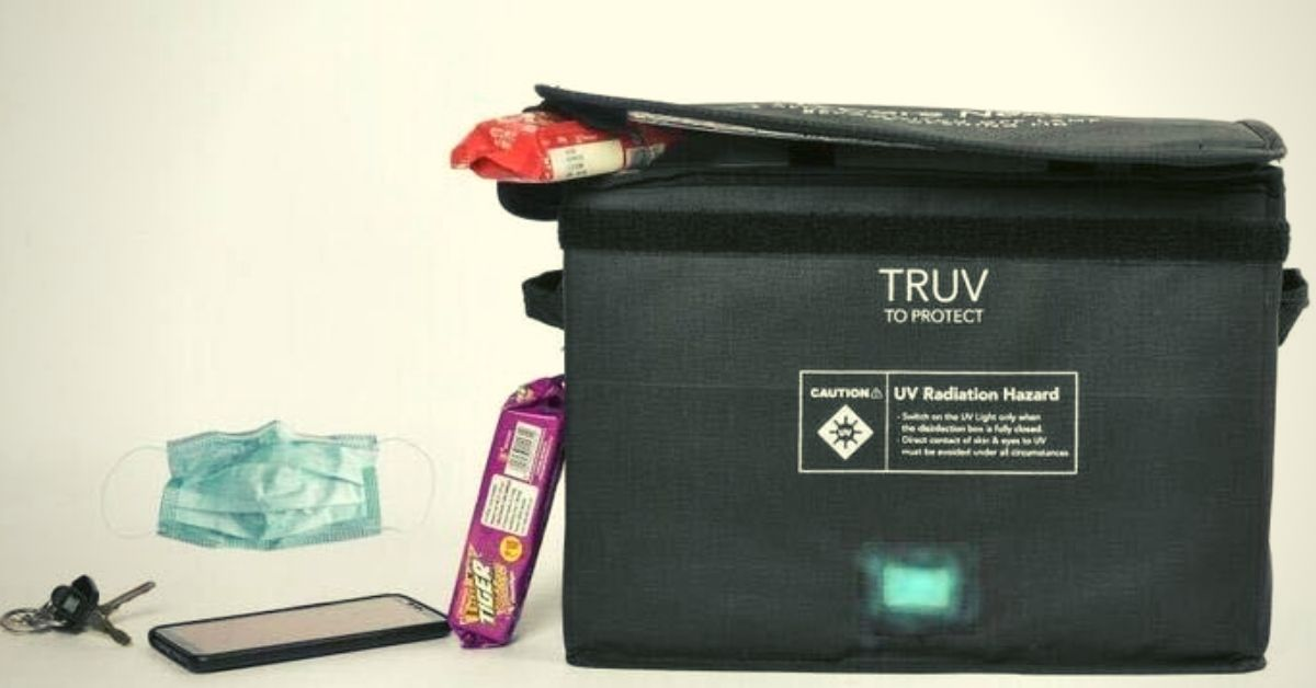 Affordable & Foldable 'UV Bag' Can Help Sanitise Your Phones, Groceries & More