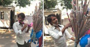 Delhi flute vendor