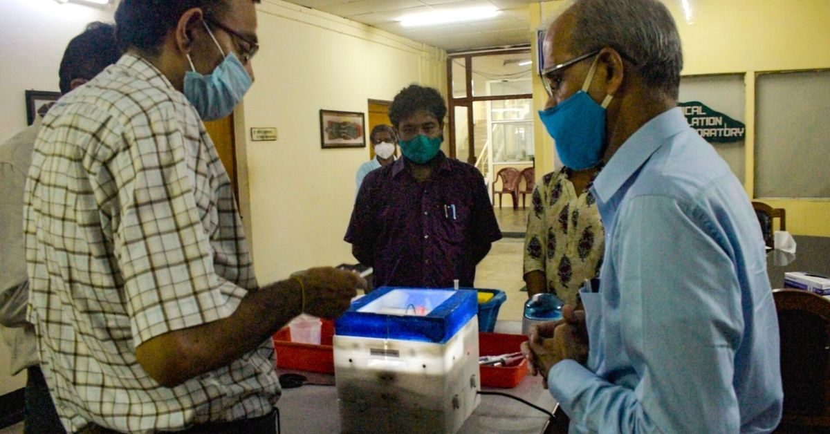 IIT-Kharagpur's New COVRIAP Box Can Go Anywhere, Do COVID-19 Tests For Rs 500