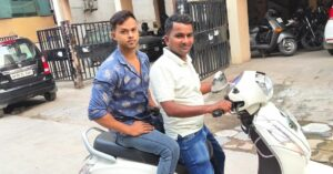 Hyderabad Man Ferries Covid Patients on His Bike