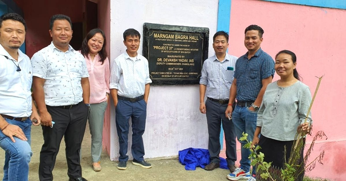 With 'Project 37', Arunachal Officers Raise Lakhs to Repair Schools, Build Roads