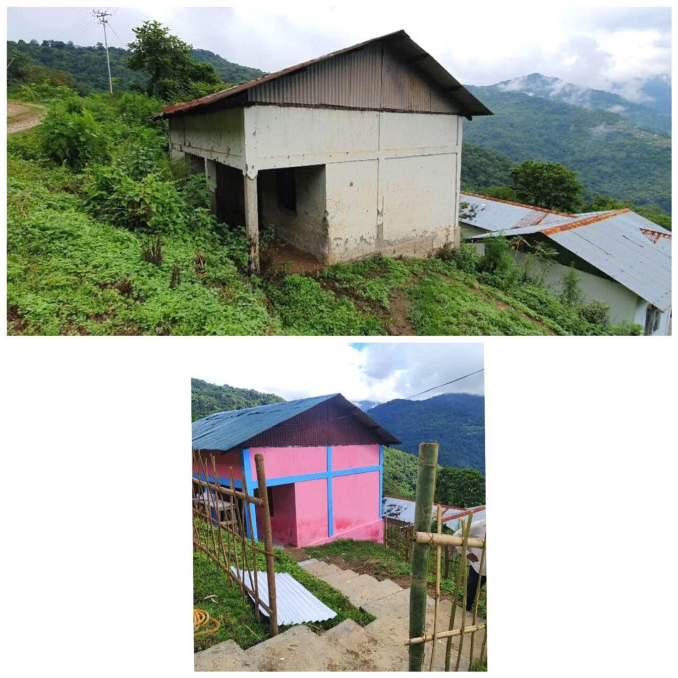 Arunachal Officers Raise Lakhs to Repair Schools