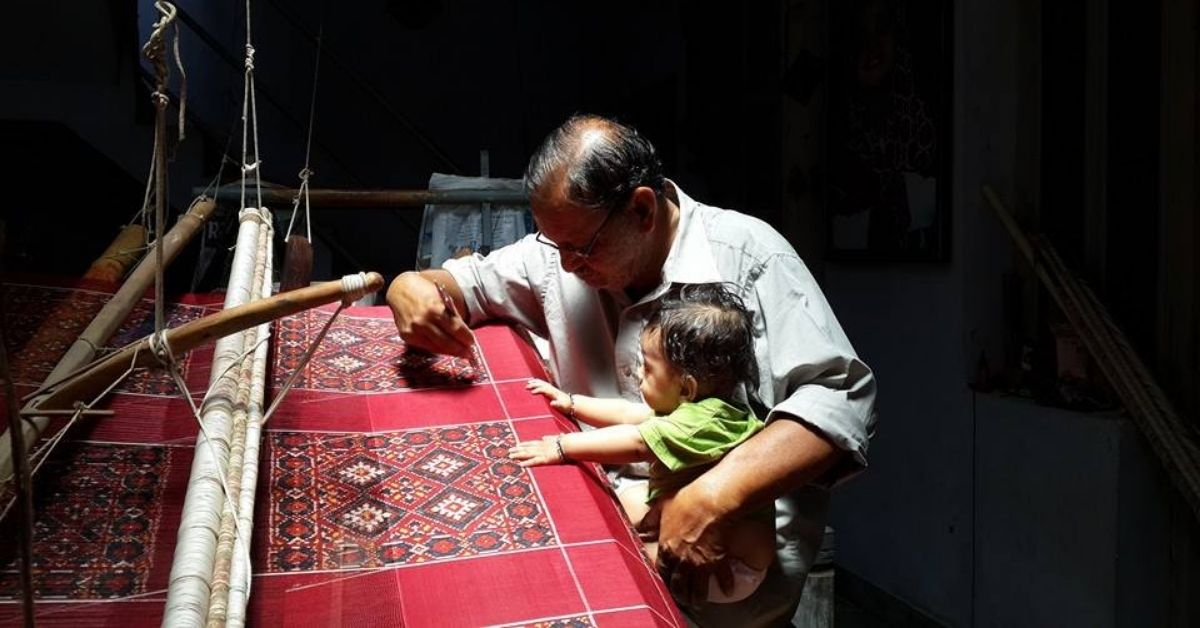 For 900 Years This Family Has Weaved Patan Patola Saris, Worth Several Lakh Each
