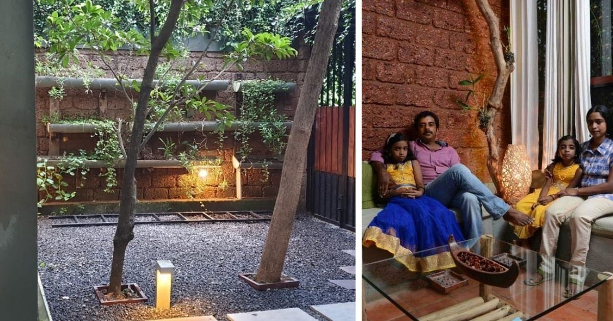 This Concrete-Free Kerala Home Has A Fruit Orchard & a Pond in the Middle