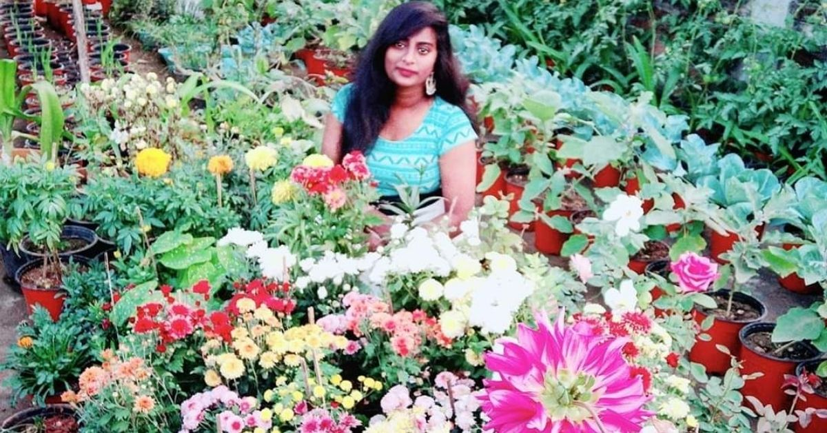Telangana Engineer Grows her Own Food, 700 Plants & Mini Floral Forest on Terrace