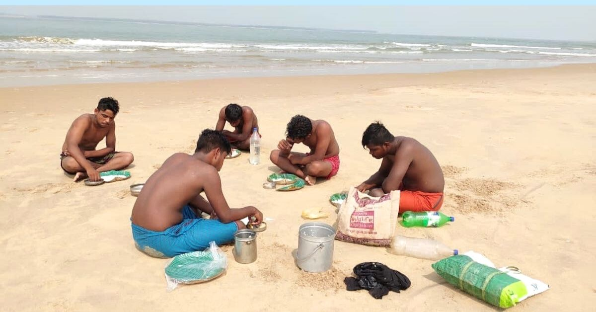 Odisha Group Clear 5 Tons of Beach Waste With Bare Hands