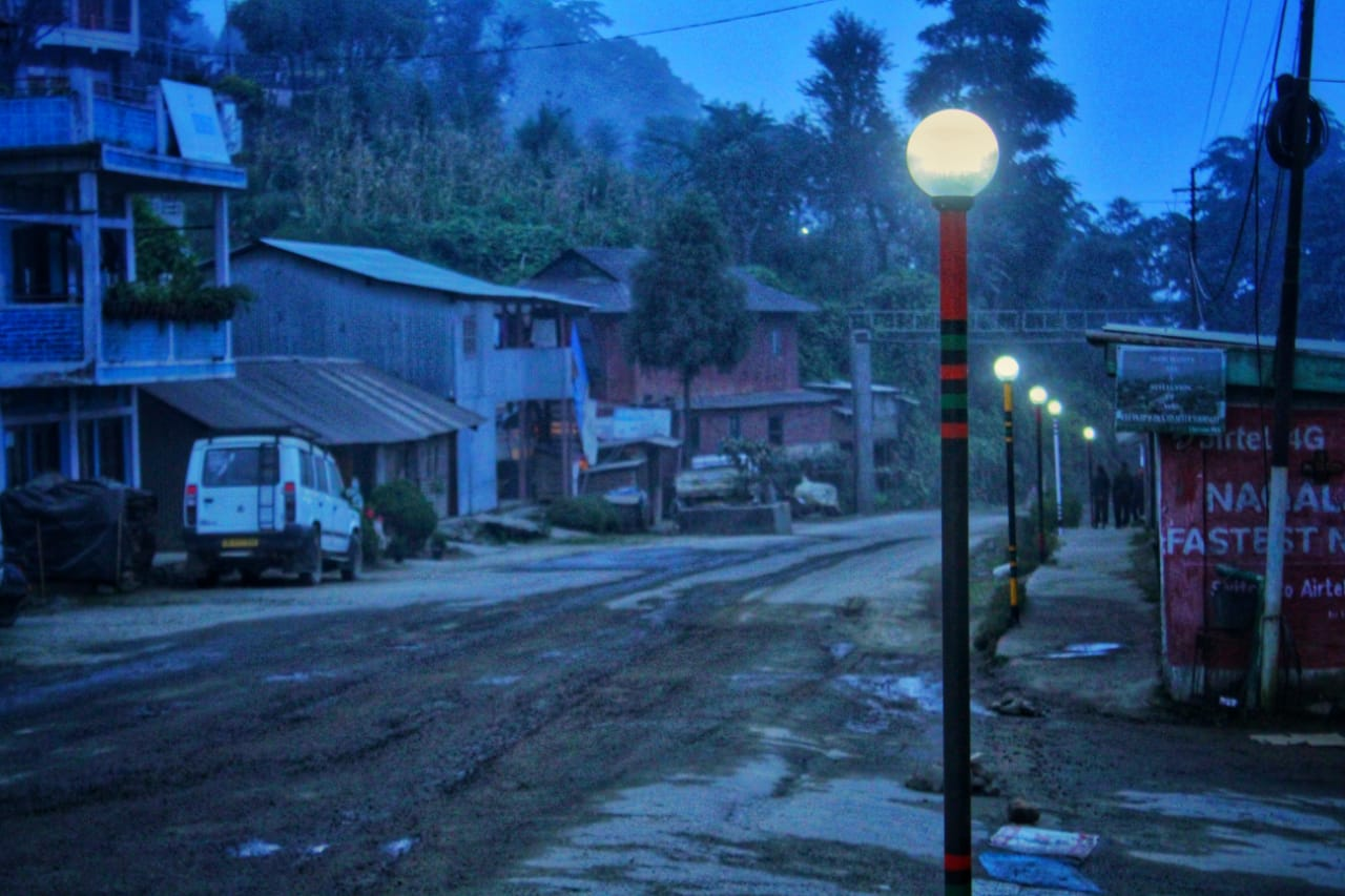 Nagaland Students Setup Mini Hydropower Plant, Power Highway Street Lights
