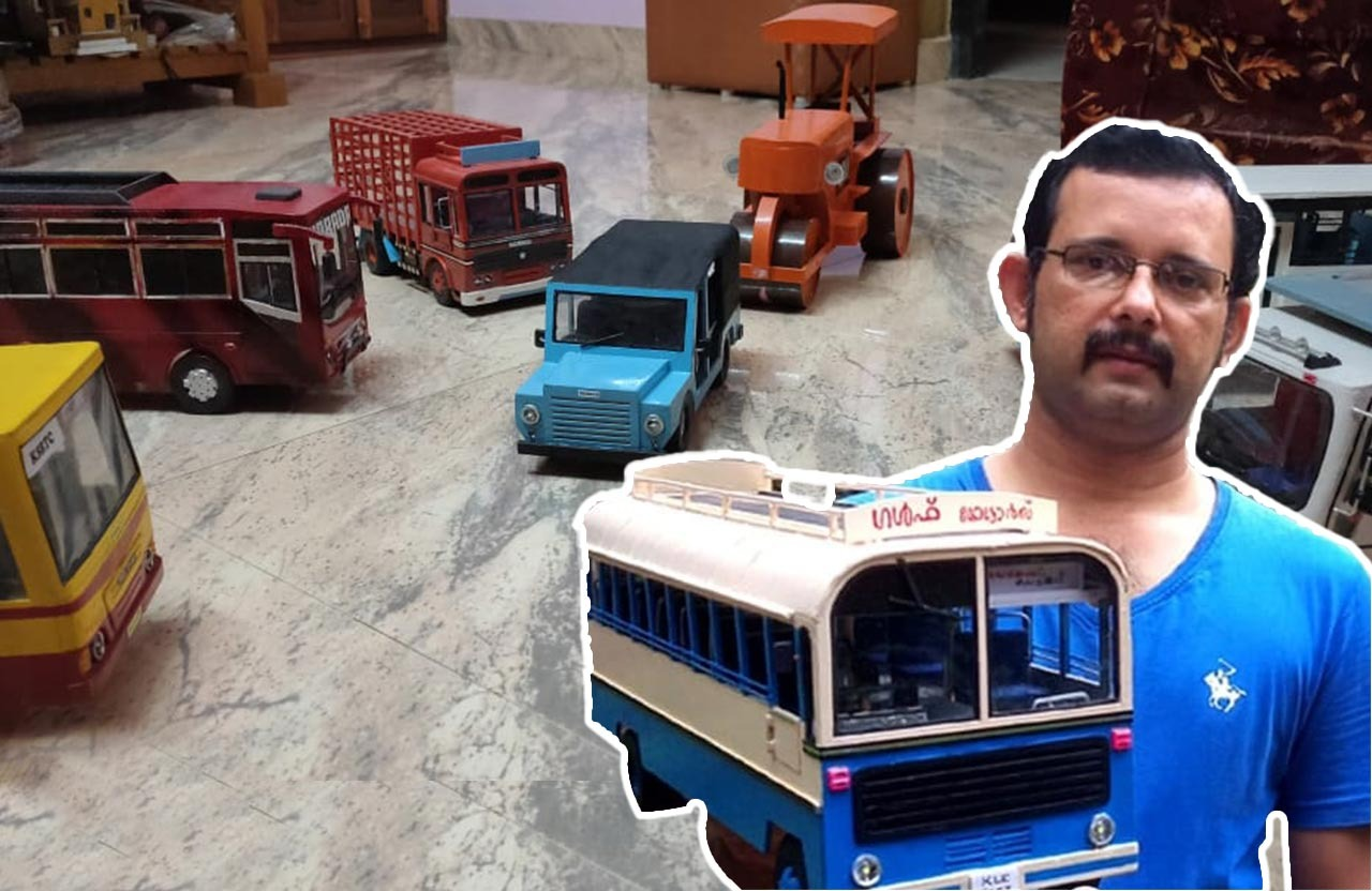 Inspired by Daughters, Kerala Man Builds Miniatures From The Past During Lockdown