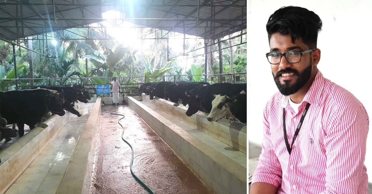 Kerala Engineer Applies Science & Kindness To Dairy Farming, Earns Rs 1 Lakh/Month