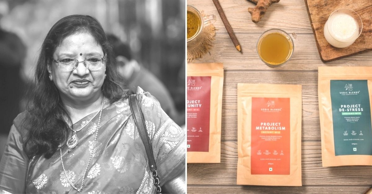 After Family Business Comes to a Halt, 61-YO Turns Entrepreneur With Herbal Blends