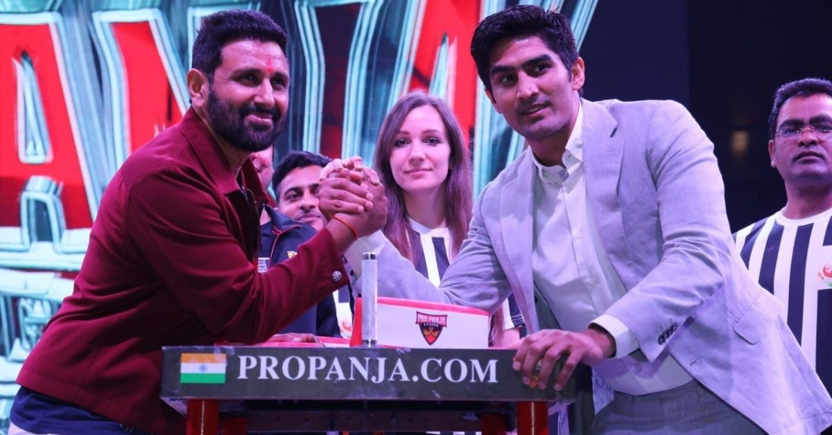Anyone Can Arm Wrestle to Win Rs 15000 at This Inclusive Pro-Panja League