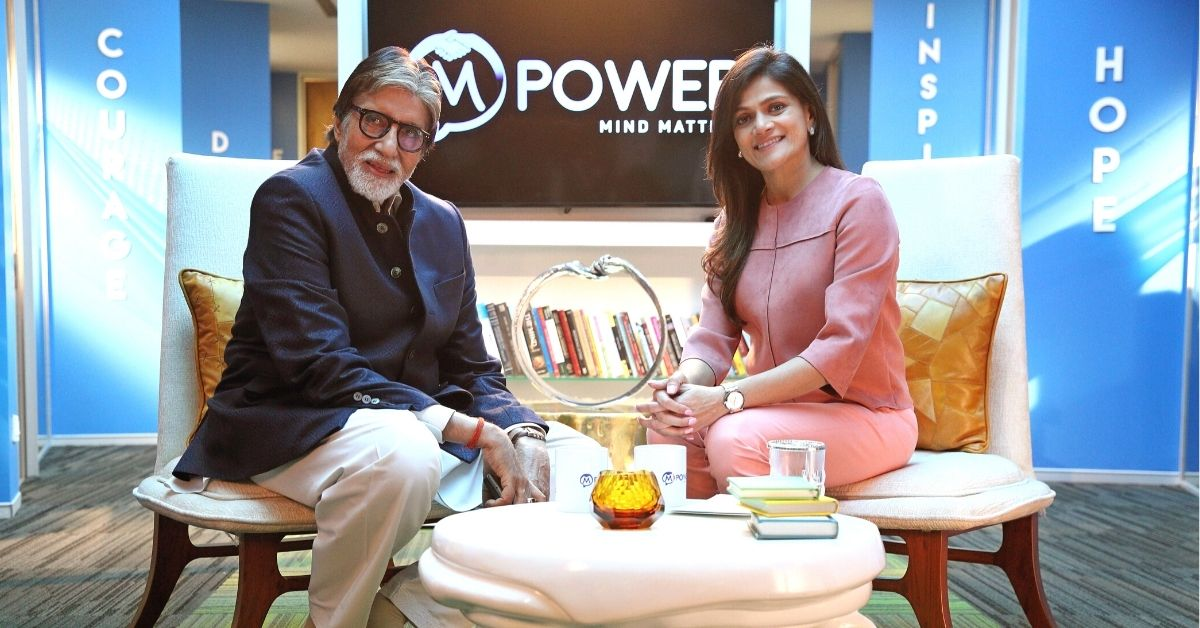 """""""It's OK to Not be OK"""": Amitabh Bachchan Talks Mental Health & How to Help Loved Ones"""