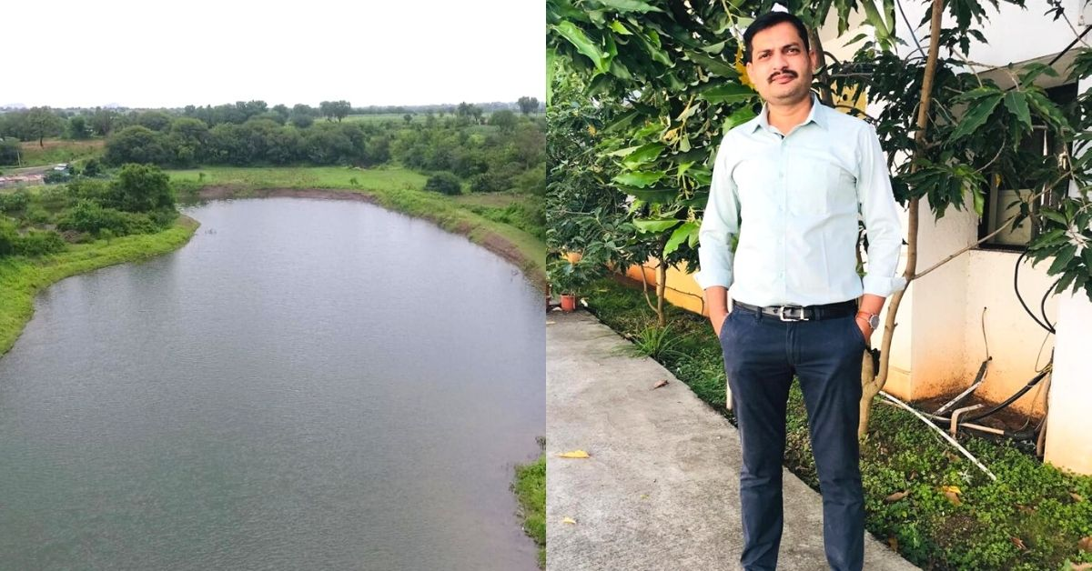Pune Man Helps His Village Go Tanker-free By Saving 29 Crore Litres Of Water in 2 Years